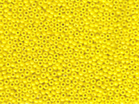 Image Seed Beads Miyuki Seed size 11 yellow opaque
