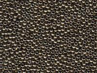 Image Seed Beads Miyuki Seed size 11 dark bronze metallic