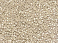 Image Seed Beads Miyuki Seed size 11 cream transparent