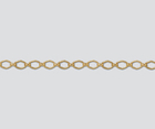 goldfill diamond link Chain 3.65mm
