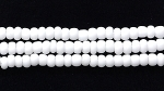 Seed Beads Czech Seed size 11 chalk white opaque matte