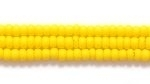 Seed Beads Czech Seed size 11 dark yellow opaque