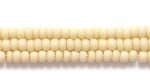 Image Seed Beads Czech Seed size 11 tan  opaque