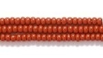 Seed Beads Czech Seed size 11 light brown opaque