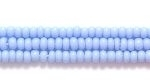 Seed Beads Czech Seed size 11 pale blue opaque