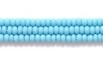 Image Seed Beads Czech Seed size 11 turquoise blue opaque