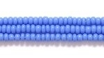 Seed Beads Czech Seed size 11 light blue opaque