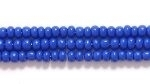 Image Seed Beads Czech Seed size 11 dark blue opaque