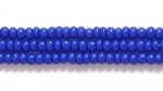 Image Seed Beads Czech Seed size 11 royal blue opaque