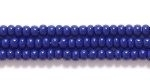 Seed Beads Czech Seed size 11 navy blue opaque