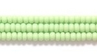 Seed Beads Czech Seed size 11 lime green opaque