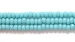 Seed Beads Czech Seed size 11 turquoise green opaque