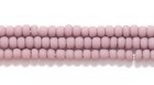 Seed Beads Czech Seed size 11 light purple opaque matte