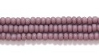 Seed Beads Czech Seed size 11 dark purple opaque matte