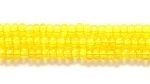 Seed Beads Czech Seed size 11 yellow transparent