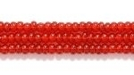 Seed Beads Czech Seed size 11 garnet red transparent