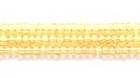 Seed Beads Czech Seed size 11 light topaz transparent