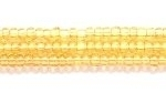 Seed Beads Czech Seed size 11 topaz transparent