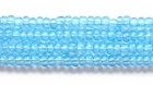 Seed Beads Czech Seed size 11 light aqua blue transparent