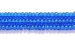 Seed Beads Czech Seed size 11 capri blue transparent