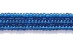 Image Seed Beads Czech Seed size 11 montana blue transparent