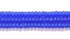Seed Beads Czech Seed size 11 cobalt blue transparent matte
