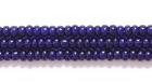 Seed Beads Czech Seed size 11 deep cobalt blue transparent