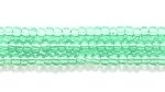 Seed Beads Czech Seed size 11 light green transparent