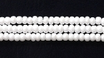 Image Seed Beads Czech Seed size 11 chalk white  opaque luster