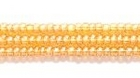 Seed Beads Czech Seed size 11 topaz transparent luster