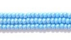 Seed Beads Czech Seed size 11 turquoise blue opaque luster