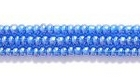 Seed Beads Czech Seed size 11 capri blue transparent luster