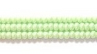 Seed Beads Czech Seed size 11 lime green opaque luster