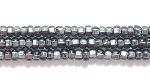 Seed Beads Czech Seed size 11 grey silver lined