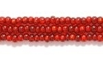 Image Seed Beads Czech Seed size 11 garnet red silver lined