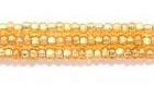 Seed Beads Czech Seed size 11 gold silver lined iridescent