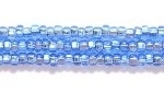 Seed Beads Czech Seed size 11 light sapphire blue silver lined