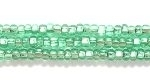 Seed Beads Czech Seed size 11 light mint green silver lined