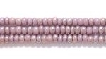 Seed Beads Czech Seed size 11 light purple opaque iridescent