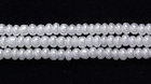 Seed Beads Czech Seed size 11 white opalescent