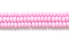 Seed Beads Czech Seed size 11 light pink opaque