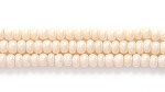 Seed Beads Czech Seed size 11 pearl eggshell opalescent