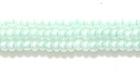 Seed Beads Czech Seed size 11 light green opalescent