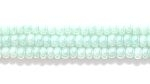 Seed Beads Czech Seed size 11 green opalescent