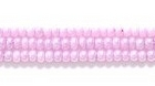 Seed Beads Czech Seed size 11 light purple opalescent