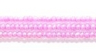 Seed Beads Czech Seed size 11 light purple color lined transparent