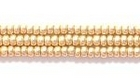 Seed Beads Czech Seed size 11 champagne gold metallic