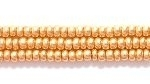 Seed Beads Czech Seed size 11 gold metallic