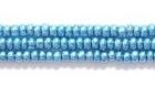 Seed Beads Czech Seed size 11 blue metallic