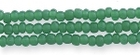 Seed Beads Czech Seed size 11 dark greasy green opalescent